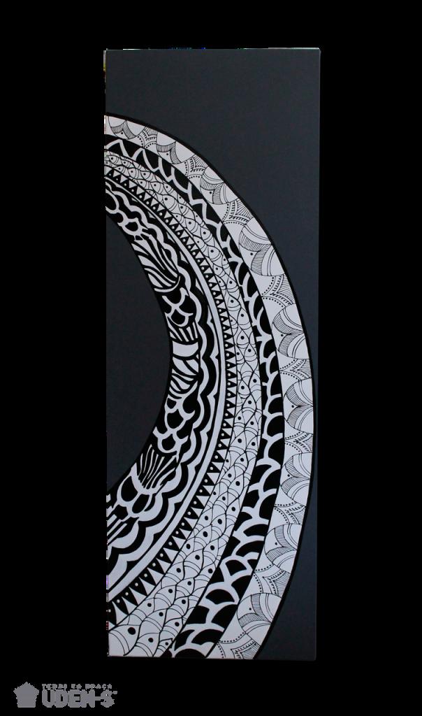 Керамический дизайн-обогреватель UDEN-S «Перо»