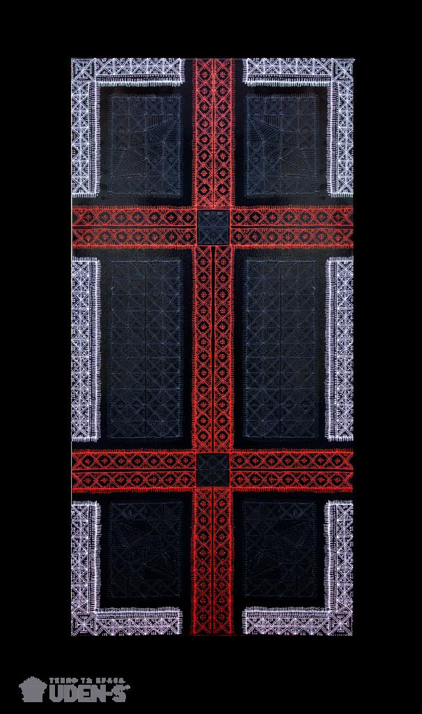 Керамический дизайн-обогреватель UDEN-S «Вышиванка»