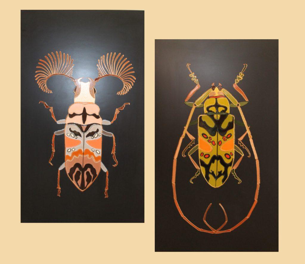Керамический дизайн-обогреватель UDEN-S «Бітлз» (диптих)