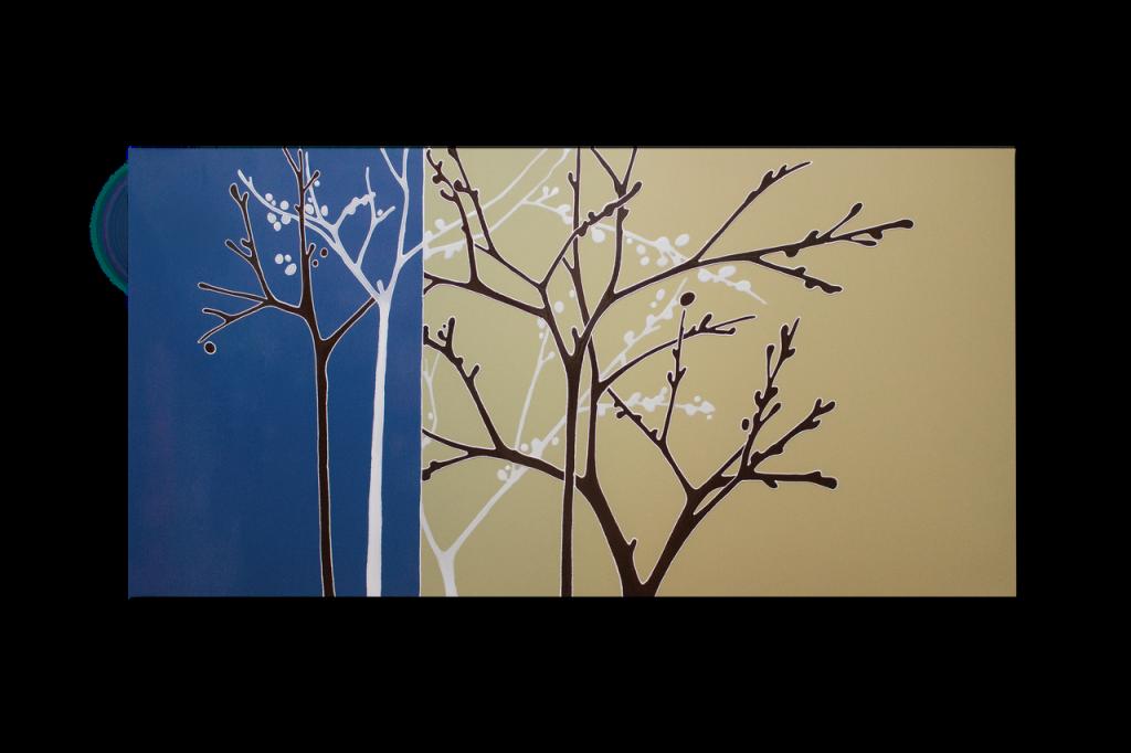 Керамический дизайн-обогреватель UDEN-S «Времена года»